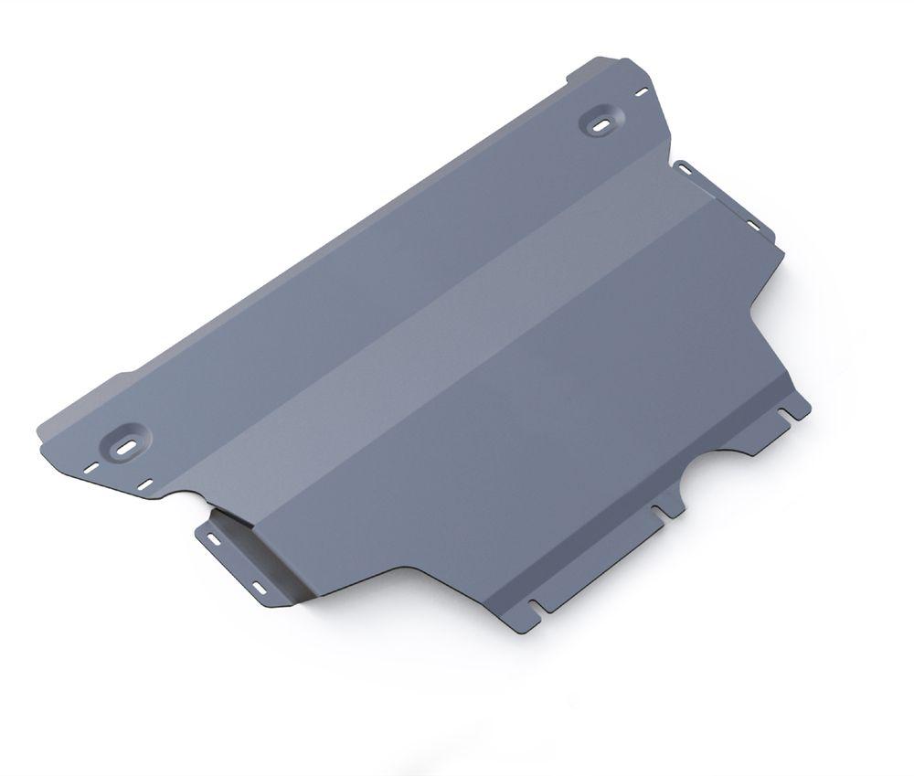 Защита картера и КПП Rival, для AUDI A3/Seat Leon/Volkswagen Golf VII. 333.0322.22706 (ПО)Защита картера и КПП для Audi A3 , FWD, 4WD V - 1,2TSI, 1,4 TFSI, 1,8 TFSI, 1,8TSI 2012-, крепеж в комплекте, алюминий 3 мм, Rival. Надежно защищают днище вашего автомобиля от повреждений, например при наезде на бордюры, а также выполняют эстетическую функцию при установке на высокие автомобили.- Толщина алюминиевых защит в 2 раза толще стальных, а вес при этом меньше до 30%.- Отлично отводит тепло от двигателя своей поверхностью, что спасает двигатель от перегрева в летний период или при высоких нагрузках.- В отличие от стальных, алюминиевые защиты не поддаются коррозии, что гарантирует срок службы защит более 5 лет.- Покрываются порошковой краской, что надолго сохраняет первоначальный вид новой защиты и защищает от гальванической коррозии.- Глубокий штамп дополнительно усиливает конструкцию защиты.- Подштамповка в местах крепления защищает крепеж от срезания.- Технологические отверстия там, где они необходимы для смены масла и слива воды, оборудованные заглушками, надежно закрепленными на защите.Уважаемые клиенты!Обращаем ваше внимание, на тот факт, что защита имеет форму, соответствующую модели данного автомобиля. Фото служит для визуального восприятия товара.
