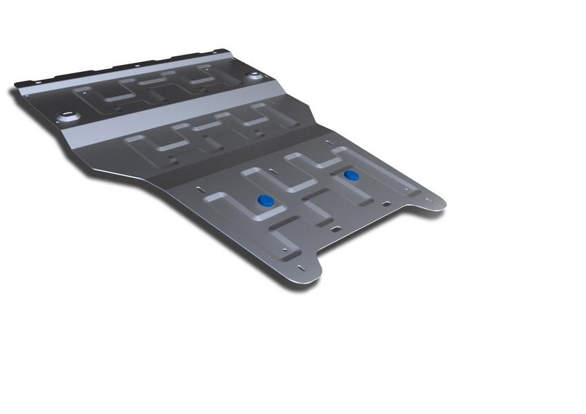 Защита картера и КПП Rival, для AUDI Q3. 333.0328.198298123_черныйЗащита картера и КПП для Audi Q3 , V - 2,0 TFSI; 2,0 TDI 2011-, крепеж в комплекте, алюминий 4 мм, Rival. Надежно защищают днище вашего автомобиля от повреждений, например при наезде на бордюры, а также выполняют эстетическую функцию при установке на высокие автомобили.- Толщина алюминиевых защит в 2 раза толще стальных, а вес при этом меньше до 30%.- Отлично отводит тепло от двигателя своей поверхностью, что спасает двигатель от перегрева в летний период или при высоких нагрузках.- В отличие от стальных, алюминиевые защиты не поддаются коррозии, что гарантирует срок службы защит более 5 лет.- Покрываются порошковой краской, что надолго сохраняет первоначальный вид новой защиты и защищает от гальванической коррозии.- Глубокий штамп дополнительно усиливает конструкцию защиты.- Подштамповка в местах крепления защищает крепеж от срезания.- Технологические отверстия там, где они необходимы для смены масла и слива воды, оборудованные заглушками, надежно закрепленными на защите.Уважаемые клиенты!Обращаем ваше внимание, на тот факт, что защита имеет форму, соответствующую модели данного автомобиля. Фото служит для визуального восприятия товара.