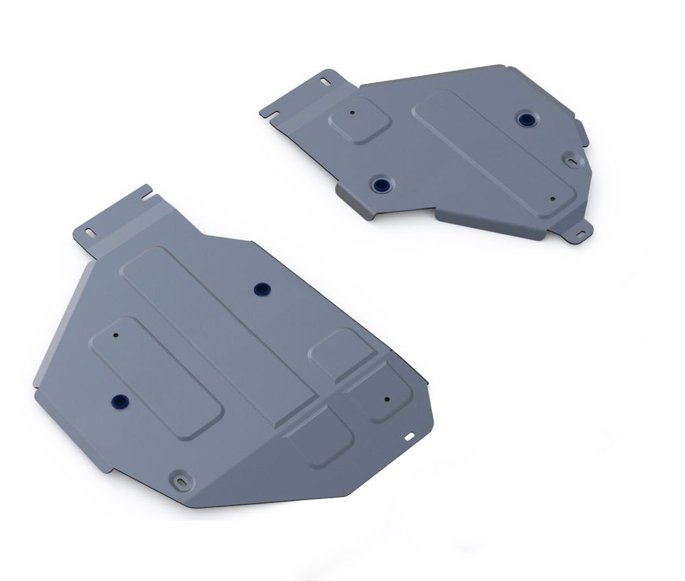 Защита топливного бака Rival, для AUDI Q7. 333.0332.1CA-3505Защита топливных баков для Audi Q7, V - 3,0TFSI; 3,0TFSI S-Line; 3,0TDI 2015-, крепеж в комплекте, алюминий 4 мм, Rival. Надежно защищают днище вашего автомобиля от повреждений, например при наезде на бордюры, а также выполняют эстетическую функцию при установке на высокие автомобили.- Толщина алюминиевых защит в 2 раза толще стальных, а вес при этом меньше до 30%.- Отлично отводит тепло от двигателя своей поверхностью, что спасает двигатель от перегрева в летний период или при высоких нагрузках.- В отличие от стальных, алюминиевые защиты не поддаются коррозии, что гарантирует срок службы защит более 5 лет.- Покрываются порошковой краской, что надолго сохраняет первоначальный вид новой защиты и защищает от гальванической коррозии.- Глубокий штамп дополнительно усиливает конструкцию защиты.- Подштамповка в местах крепления защищает крепеж от срезания.- Технологические отверстия там, где они необходимы для смены масла и слива воды, оборудованные заглушками, надежно закрепленными на защите.Уважаемые клиенты!Обращаем ваше внимание, на тот факт, что защита имеет форму, соответствующую модели данного автомобиля. Фото служит для визуального восприятия товара.