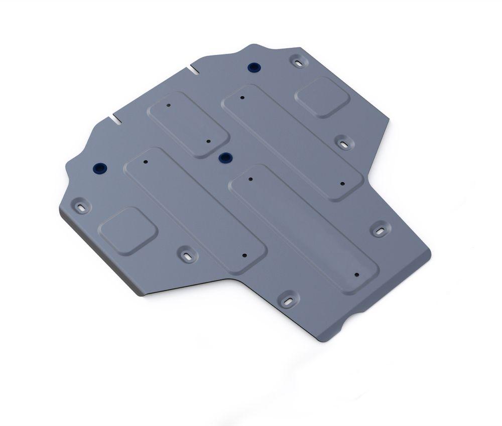 Защита КПП Rival, для AUDI A4. 333.0335.11004900000360Защита КПП для Audi A4, FWD, 4WD, АКПП, V-1,4TFSI, 2,0TFSI(190hp), 2,0TFSI(249hp) 2015-, крепеж в комплекте, алюминий 4 мм, Rival. Надежно защищают днище вашего автомобиля от повреждений, например при наезде на бордюры, а также выполняют эстетическую функцию при установке на высокие автомобили.- Толщина алюминиевых защит в 2 раза толще стальных, а вес при этом меньше до 30%.- Отлично отводит тепло от двигателя своей поверхностью, что спасает двигатель от перегрева в летний период или при высоких нагрузках.- В отличие от стальных, алюминиевые защиты не поддаются коррозии, что гарантирует срок службы защит более 5 лет.- Покрываются порошковой краской, что надолго сохраняет первоначальный вид новой защиты и защищает от гальванической коррозии.- Глубокий штамп дополнительно усиливает конструкцию защиты.- Подштамповка в местах крепления защищает крепеж от срезания.- Технологические отверстия там, где они необходимы для смены масла и слива воды, оборудованные заглушками, надежно закрепленными на защите.Уважаемые клиенты!Обращаем ваше внимание, на тот факт, что защита имеет форму, соответствующую модели данного автомобиля. Фото служит для визуального восприятия товара.