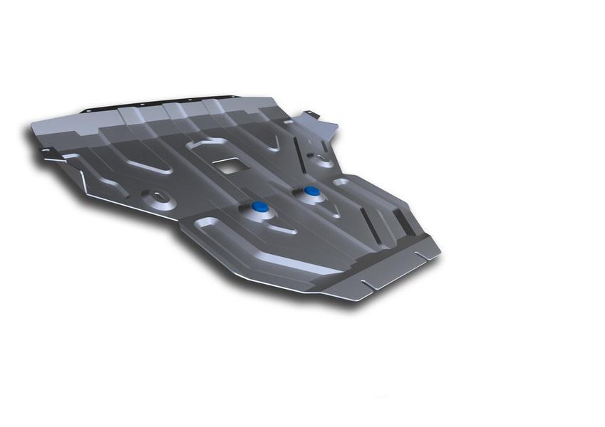 Защита картера Rival, для BMW X3. 333.0506.21004900000360Защита картера для BMW X3 , 20d, 28i, 30d 2010-2014 2014-, крепеж в комплекте, алюминий 4 мм, Rival. Надежно защищают днище вашего автомобиля от повреждений, например при наезде на бордюры, а также выполняют эстетическую функцию при установке на высокие автомобили.- Толщина алюминиевых защит в 2 раза толще стальных, а вес при этом меньше до 30%.- Отлично отводит тепло от двигателя своей поверхностью, что спасает двигатель от перегрева в летний период или при высоких нагрузках.- В отличие от стальных, алюминиевые защиты не поддаются коррозии, что гарантирует срок службы защит более 5 лет.- Покрываются порошковой краской, что надолго сохраняет первоначальный вид новой защиты и защищает от гальванической коррозии.- Глубокий штамп дополнительно усиливает конструкцию защиты.- Подштамповка в местах крепления защищает крепеж от срезания.- Технологические отверстия там, где они необходимы для смены масла и слива воды, оборудованные заглушками, надежно закрепленными на защите.Уважаемые клиенты!Обращаем ваше внимание, на тот факт, что защита имеет форму, соответствующую модели данного автомобиля. Фото служит для визуального восприятия товара.