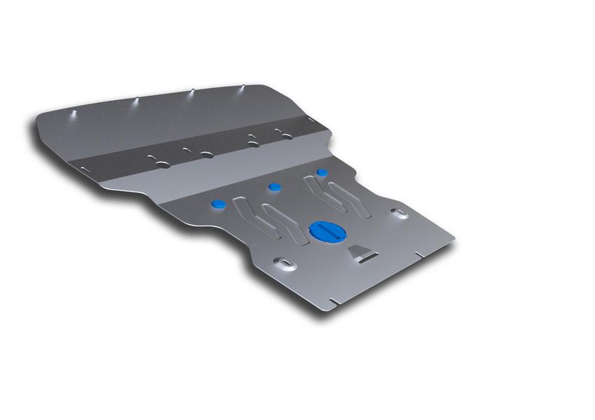 Защита картера Rival, для BMW 5/GT. 333.0513.2SVC-300Защита картера для BMW 5 , 528i xDrive, 530d xDrive 2010-, крепеж в комплекте, алюминий 4 мм, Rival. Надежно защищают днище вашего автомобиля от повреждений, например при наезде на бордюры, а также выполняют эстетическую функцию при установке на высокие автомобили.- Толщина алюминиевых защит в 2 раза толще стальных, а вес при этом меньше до 30%.- Отлично отводит тепло от двигателя своей поверхностью, что спасает двигатель от перегрева в летний период или при высоких нагрузках.- В отличие от стальных, алюминиевые защиты не поддаются коррозии, что гарантирует срок службы защит более 5 лет.- Покрываются порошковой краской, что надолго сохраняет первоначальный вид новой защиты и защищает от гальванической коррозии.- Глубокий штамп дополнительно усиливает конструкцию защиты.- Подштамповка в местах крепления защищает крепеж от срезания.- Технологические отверстия там, где они необходимы для смены масла и слива воды, оборудованные заглушками, надежно закрепленными на защите.Уважаемые клиенты!Обращаем ваше внимание, на тот факт, что защита имеет форму, соответствующую модели данного автомобиля. Фото служит для визуального восприятия товара.