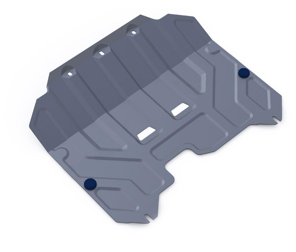 Защита картера и КПП Rival, для Hyundai ix35/Kia Sportage III. 333.2352.198298123_черныйЗащита картера и КПП для Hyundai ix35 , V - 2,0 2010-2015, крепеж в комплекте, алюминий 3 мм, Rival. Надежно защищают днище вашего автомобиля от повреждений, например при наезде на бордюры, а также выполняют эстетическую функцию при установке на высокие автомобили.- Толщина алюминиевых защит в 2 раза толще стальных, а вес при этом меньше до 30%.- Отлично отводит тепло от двигателя своей поверхностью, что спасает двигатель от перегрева в летний период или при высоких нагрузках.- В отличие от стальных, алюминиевые защиты не поддаются коррозии, что гарантирует срок службы защит более 5 лет.- Покрываются порошковой краской, что надолго сохраняет первоначальный вид новой защиты и защищает от гальванической коррозии.- Глубокий штамп дополнительно усиливает конструкцию защиты.- Подштамповка в местах крепления защищает крепеж от срезания.- Технологические отверстия там, где они необходимы для смены масла и слива воды, оборудованные заглушками, надежно закрепленными на защите.Уважаемые клиенты!Обращаем ваше внимание, на тот факт, что защита имеет форму, соответствующую модели данного автомобиля. Фото служит для визуального восприятия товара.