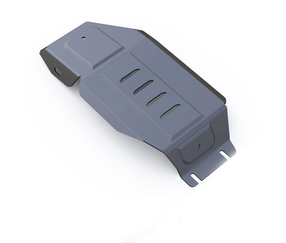Защита редуктора Rival, для Hyundai Tucson III. 333.2359.1VCA-00Защита редуктора для Hyundai Tucson АКПП, 4WD V-1,6T(177hp),2,0MPI, 2,0CRDI 2015-, изготовленная из алюминия толщиной 4 мм, надежно защитит днище вашего автомобиля от повреждений, например при наезде на бордюры, а также выполняет эстетическую функцию при установке на высокие автомобили.- Толщина алюминиевых защит в 2 раза толще стальных, а вес при этом меньше до 30%.- Отлично отводит тепло от двигателя своей поверхностью, что спасает двигатель от перегрева в летний период или при высоких нагрузках.- В отличие от стальных, алюминиевые защиты не поддаются коррозии, что гарантирует срок службы защит более 5 лет.- Покрываются порошковой краской, что надолго сохраняет первоначальный вид новой защиты и защищает от гальванической коррозии.- Глубокий штамп дополнительно усиливает конструкцию защиты.- Подштамповка в местах крепления защищает крепеж от срезания.- Технологические отверстия там, где они необходимы для смены масла и слива воды, оборудованные заглушками, надежно закрепленными на защите.Крепеж в комплекте. Уважаемые клиенты!Обращаем ваше внимание, на тот факт, что защита имеет форму, соответствующую модели данного автомобиля. Фото служит для визуального восприятия товара.