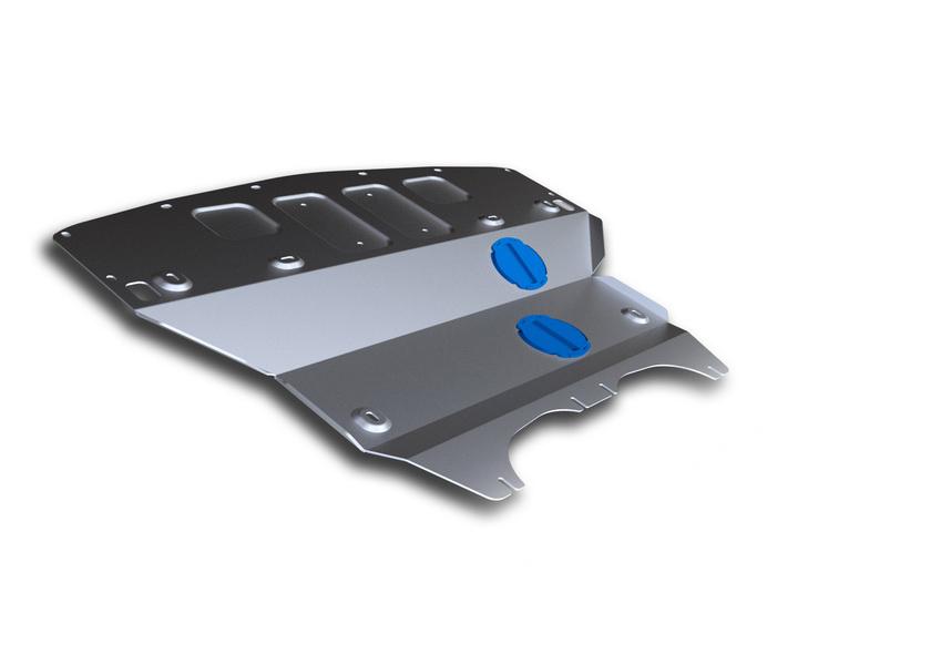 Защита картера Rival, для Infiniti Q 50. 333.2417.1VCA-00Защита картера для Infiniti Q50 из алюминия толщиной 4 мм, надежно защитит днище вашего автомобиля от повреждений, например при наезде на бордюры, а также выполняет эстетическую функцию при установке на высокие автомобили.- Толщина алюминиевых защит в 2 раза толще стальных, а вес при этом меньше до 30%.- Отлично отводит тепло от двигателя своей поверхностью, что спасает двигатель от перегрева в летний период или при высоких нагрузках.- В отличие от стальных, алюминиевые защиты не поддаются коррозии, что гарантирует срок службы защит более 5 лет.- Покрываются порошковой краской, что надолго сохраняет первоначальный вид новой защиты и защищает от гальванической коррозии.- Глубокий штамп дополнительно усиливает конструкцию защиты.- Подштамповка в местах крепления защищает крепеж от срезания.- Технологические отверстия там, где они необходимы для смены масла и слива воды, оборудованные заглушками, надежно закрепленными на защите.Крепеж в комплекте. Уважаемые клиенты!Обращаем ваше внимание, на тот факт, что защита имеет форму, соответствующую модели данного автомобиля. Фото служит для визуального восприятия товара.