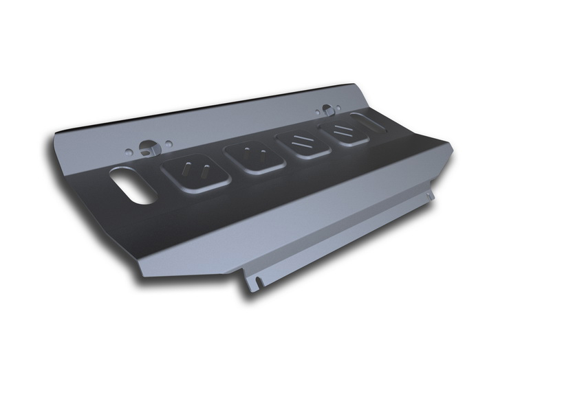 Защита радиатора Rival, для Mitsubishi Pajero IV. 333.4012.1111.05806.1Защита радиатора для Mitsubishi Pajero IV , V - 3,0; 3,2(188hp, 200hp); 3,8 2006-2011 2011-2016, крепеж в комплекте, алюминий 4 мм, Rival. Надежно защищают днище вашего автомобиля от повреждений, например при наезде на бордюры, а также выполняют эстетическую функцию при установке на высокие автомобили.- Толщина алюминиевых защит в 2 раза толще стальных, а вес при этом меньше до 30%.- Отлично отводит тепло от двигателя своей поверхностью, что спасает двигатель от перегрева в летний период или при высоких нагрузках.- В отличие от стальных, алюминиевые защиты не поддаются коррозии, что гарантирует срок службы защит более 5 лет.- Покрываются порошковой краской, что надолго сохраняет первоначальный вид новой защиты и защищает от гальванической коррозии.- Глубокий штамп дополнительно усиливает конструкцию защиты.- Подштамповка в местах крепления защищает крепеж от срезания.- Технологические отверстия там, где они необходимы для смены масла и слива воды, оборудованные заглушками, надежно закрепленными на защите.Уважаемые клиенты!Обращаем ваше внимание, на тот факт, что защита имеет форму, соответствующую модели данного автомобиля. Фото служит для визуального восприятия товара.