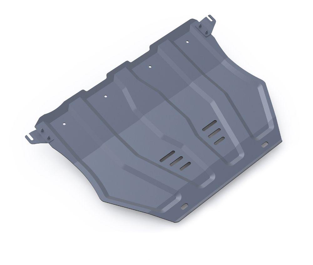 Защита картера и КПП Rival, для Mitsubishi Outlander. 333.4036.11004900000360Защита картера и КПП для Mitsubishi Outlander , V - 2,0; 2,4; 3,0 2012-2015 2015-, крепеж в комплекте, алюминий 3 мм, Rival. Надежно защищают днище вашего автомобиля от повреждений, например при наезде на бордюры, а также выполняют эстетическую функцию при установке на высокие автомобили.- Толщина алюминиевых защит в 2 раза толще стальных, а вес при этом меньше до 30%.- Отлично отводит тепло от двигателя своей поверхностью, что спасает двигатель от перегрева в летний период или при высоких нагрузках.- В отличие от стальных, алюминиевые защиты не поддаются коррозии, что гарантирует срок службы защит более 5 лет.- Покрываются порошковой краской, что надолго сохраняет первоначальный вид новой защиты и защищает от гальванической коррозии.- Глубокий штамп дополнительно усиливает конструкцию защиты.- Подштамповка в местах крепления защищает крепеж от срезания.- Технологические отверстия там, где они необходимы для смены масла и слива воды, оборудованные заглушками, надежно закрепленными на защите.Уважаемые клиенты!Обращаем ваше внимание, на тот факт, что защита имеет форму, соответствующую модели данного автомобиля. Фото служит для визуального восприятия товара.