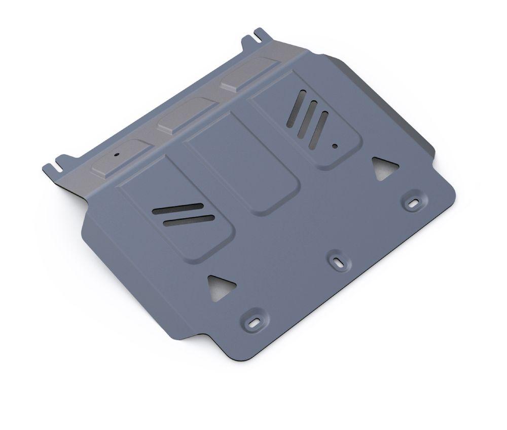 Защита картера Rival, для Mitsubishi L200. 333.4041.1VCA-00Защита картера Rival изготовленная из алюминия толщиной 4 мм, надежно защитит днище вашего автомобиля от повреждений, например при наезде на бордюры, а также выполняет эстетическую функцию при установке на высокие автомобили.- Толщина алюминиевых защит в 2 раза толще стальных, а вес при этом меньше до 30%.- Отлично отводит тепло от двигателя своей поверхностью, что спасает двигатель от перегрева в летний период или при высоких нагрузках.- В отличие от стальных, алюминиевые защиты не поддаются коррозии, что гарантирует срок службы защит более 5 лет.- Покрываются порошковой краской, что надолго сохраняет первоначальный вид новой защиты и защищает от гальванической коррозии.- Глубокий штамп дополнительно усиливает конструкцию защиты.- Подштамповка в местах крепления защищает крепеж от срезания.- Технологические отверстия там, где они необходимы для смены масла и слива воды, оборудованные заглушками, надежно закрепленными на защите.Крепеж в комплекте. Уважаемые клиенты!Обращаем ваше внимание, на тот факт, что защита имеет форму, соответствующую модели данного автомобиля. Фото служит для визуального восприятия товара.