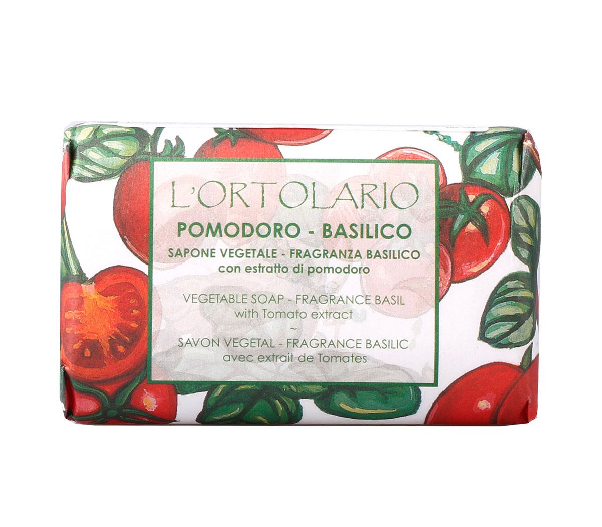 Iteritalia Мыло натуральное с ароматом базилика и экстрактом помидора, 150 гSatin Hair 7 BR730MNНатуральное косметическое мыло ,изготовленное в соответствии с античными традициями мастеров Саронно.Содержит экстракт помидора,который обладает очищающими и тонизирующими свойствами.Для всех типов кожи,в том числе хорошо подходит для проблемной.