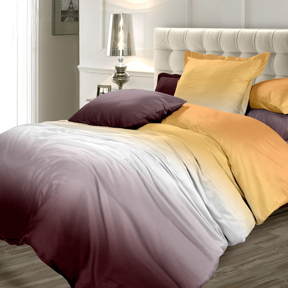 Комплект белья Унисон Осенняя соната, 1,5-спальный, наволочки 70x70FA-5125 WhiteСатин – прочная и плотная ткань с диагональным переплетением нитей. Хлопковый сатин по мягкости и гладкости уступает атласу, зато не будет соскальзывать с кровати. Сатиновое постельное белье легко переносит стирку в горячей воде, не выцветает. Прослужит комплект из обычного сатина меньше, чем из сатина повышенной плотности, но дольше белья из любой другой хлопковой ткани. Сатин приятен на ощупь, под ним комфортно спать летом и зимой. Унисон - это несколько серий постельного белья с разными дизайнами: яркий молодежный Унисон teens, Унисон а-ля русс с народными мотивами, утонченная коллекция Акварель и другие.