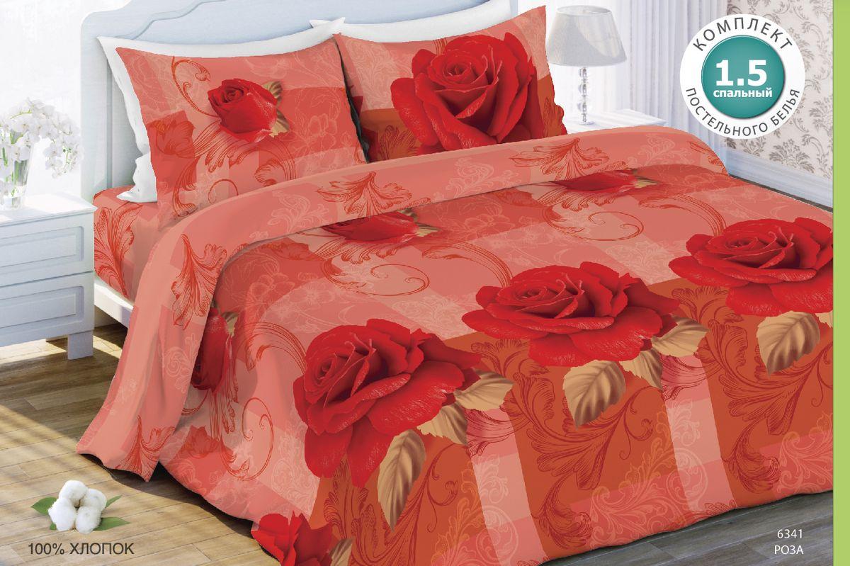 Комплект белья Любимый дом Роза, евро, наволочки 70x70Э-2032-03Комплект постельного белья коллекции Любимый дом выполнен из высококачественной ткани - из 100% хлопка. Такое белье абсолютно натуральное, гипоаллергенное, соответствует строжайшим экологическим нормам безопасности, комфортное, дышащее, не нарушает естественные процессы терморегуляции, прочное, не линяет, не деформируется и не теряет своих красок даже после многочисленных стирок, а также отличается хорошей износостойкостью.