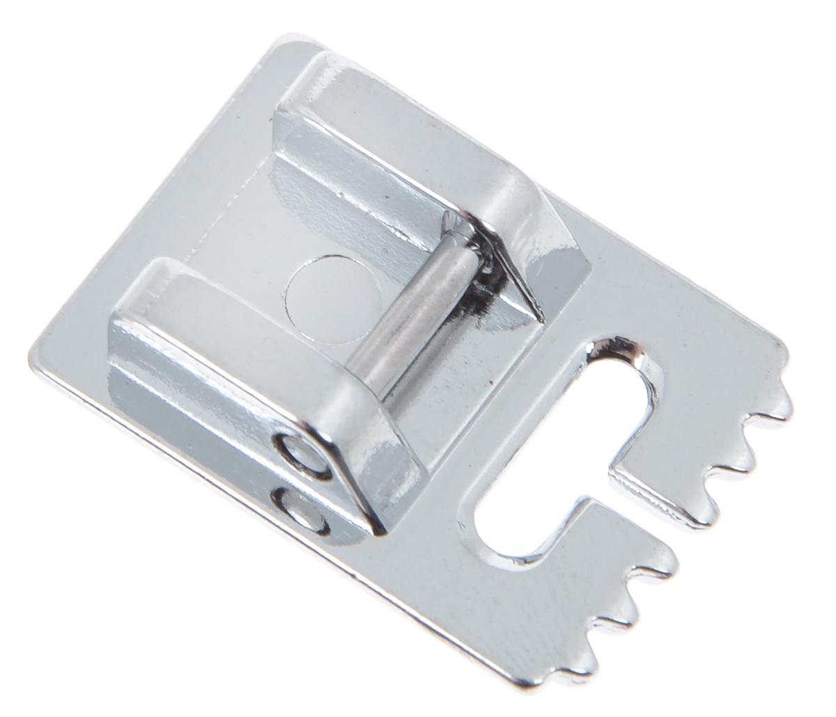 Лапка для швейной машины Aurora, для защиповFTH 72Лапка для швейной машины Aurora в сочетании с двойной иглой позволит прошить параллельные защипы на изделиях. Их также можно комбинировать с декоративными строчками. Подходит для большинства современных бытовых швейных машин. Инструкция по использованию прилагается.