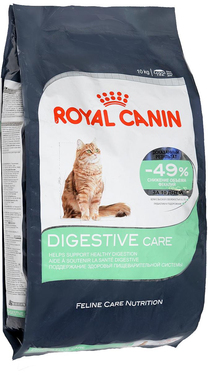 Корм сухой Royal Canin Digestive Care, для взрослых кошек с чувствительным пищеварением, 10 кг00612Сухой корм Royal Canin Digestive Care - это полнорационный сбалансированныйкорм для кошек с расстройствами пищеварительной системы. По своей природе кошки регулярно потребляют небольшое количество пищи в течение дня. Однако, некоторые из них способны съесть достаточно большую порцию за короткое время, что может привести к пищеварительному расстройству и срыгиванию.Специальные крокеты разработаны для того, чтобы стимулировать тщательное пережевывание корма и предотвратить его заглатывание, что предотвратит срыгивание пищи.Формула специально разработана для того, чтобы способствовать оптимальному усвоению продукта и облегчить процесс пищеварения. В дальнейшем это приведет к уменьшению объема фекалий.Уход за ЖКТ-это точно сбалансированная питательная формула, которая помогает поддерживать здоровье пищеварительной системы.С двойным действием: - Легко усваивается: пищеварительная формула содержит белки чрезвычайно высокой усвояемости (L.I.P). В его основе лежит смесь пребиотиков (ФОС: фрукто-олиго-сахаридов) и волокон (в том числе подорожника). Эти компоненты способствуют оптимальному усвоению продукта и регулируют транзит пищи по кишечнику кошки. - Благодаря уникальной текстуре и форме крокет кошка тщательнее разгрызает корм, а не заглатывает его целиком, что позволяет увеличить время приема пищи. Тщательное разжевывание помогает сократить риск срыгивания и подготавливает пищу к перевариванию.Доказанные результаты: Объем фекалий снижается на 49% через 10 дней при кормлении исключительно продуктом DIGESTIVE CARE, благодаря улучшению пищеварения и усвоения питательных веществ.Содержит баланс минералов для поддержания здоровья мочевыводящих путей взрослой кошки.Товар сертифицирован.