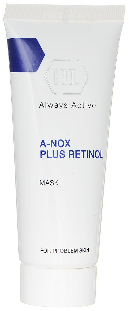 Holy Land Маска для лица A-Nox Plus Retinol Mask, 40 мл4650001790262Лечебная сокращающая противовоспалительная маска для проблемной кожи. Маска оказывает абсорбирующее, успокаивающее, противовоспалительное и антисептическое действие. Поглощает избыток выделений сальных желез, подсушивает воспаления, ускоряет заживление повреждений. Сокращает поры, осветляет поствоспалительные пятна, выравнивает цвет и текстуру кожи. Активные компоненты: бентонит, глицерин, каолин, оксид цинка, диоксид титана, оксид железа черный, аллантоин, салициловая кислота, ретинол.
