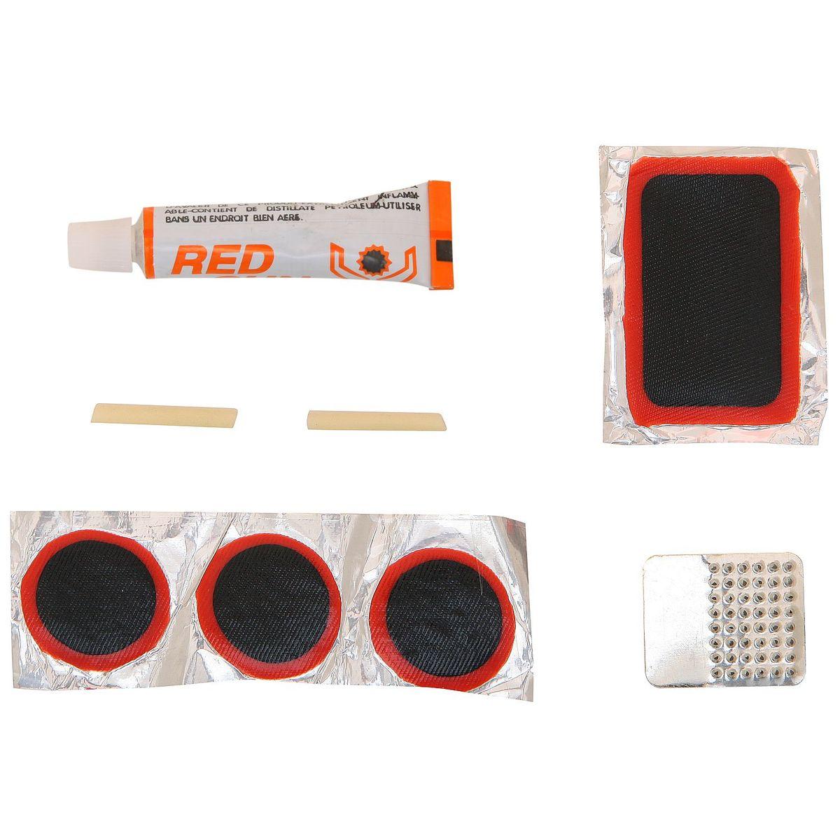Аптечка для ремонта камер STG T35003. Х33238-5MW-1462-01-SR серебристыйВелоаптечка STG T35003 предназначена для ремонта велопокрышек и камер велосипедов.В комплекте: терка, клей, заплатки.