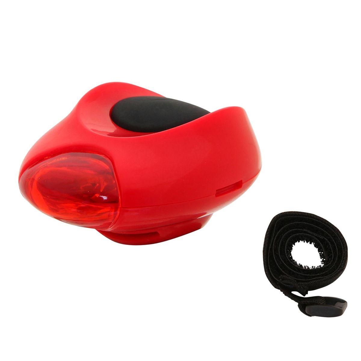 Фонарь велосипедный STG ХC-910T, заднийХ46018-5Задний велосипедный фонарь STG ХC-910T отличается легкостью, компактностью и долговечностью. Имеет три режима работы на основе диодов. Светит ярко, заметен издалека. Без труда крепится к велосипеду с помощью регулируемой ленты-липучки. Элемент питания - 2 батарейки типа CR2032 (входят в комплект).