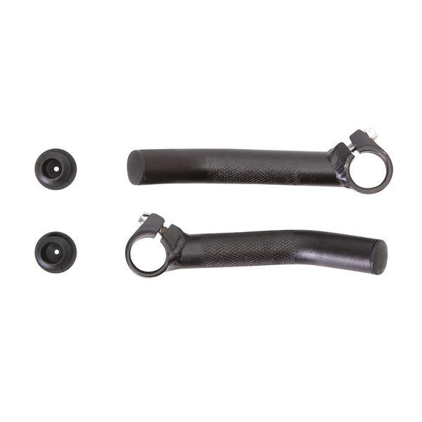 Рога STG HX-Y01-13, пара, цвет: черный. Х56319MW-1462-01-SR серебристыйРога HX-Y01-13 алюминий., черн., пара