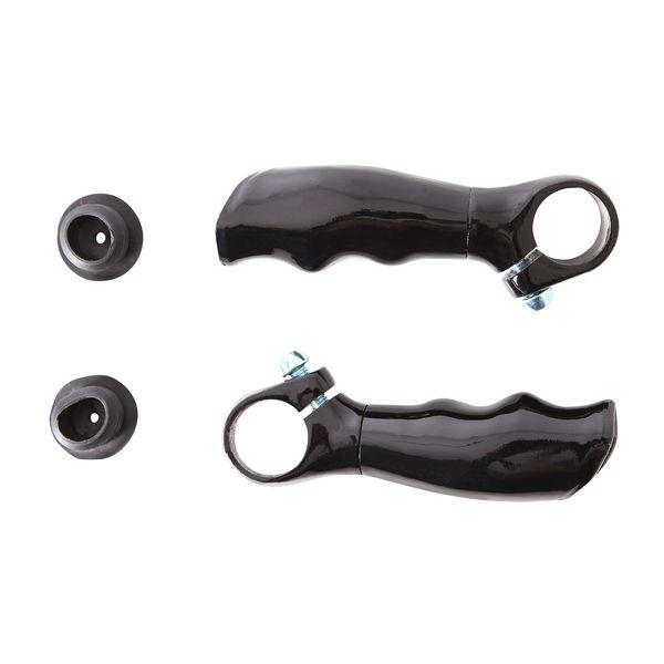 Рога STG HX-Y01-16, пара, цвет: черный. Х56320MHDR2G/AРога HX-Y01-16 алюминий., черн., пара