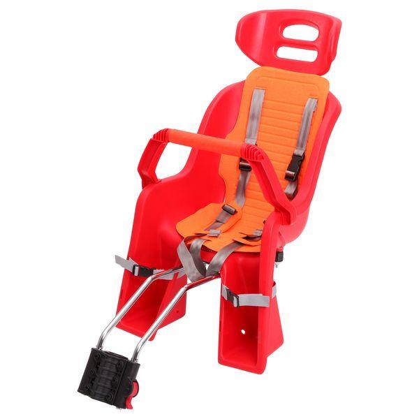 Кресло детское заднее Sunnywheel SW-BC-137, красная накладка. Х69809MW-1462-01-SR серебристыйКресло детское заднее Sunnywheel SW-BC-137 выполнено из ударопрочного пластика с мягкой подложкой. Имеет крепление на подседельный штырь. Кресло оснащено ремнями безопасности и дополнительной ручкой, за которую ребенку будет удобно держаться во время поездки. Выдерживает вес до 22 кг. Поручень съемный.