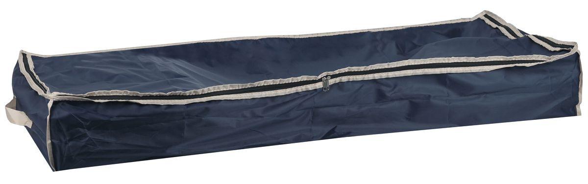 Чехол для хранения вещей White Fox Comfort, цвет: синий 16 х 45 х 90 см25051 7_желтыйЧехол для хранения White Fox Comfort выполнен из высококачественного полиэстера с пропиткой. Особенность данного материала в том, что его можно протирать, в нем не накапливается пыль, и вещи остаются чистыми.Чехол обеспечит надежное хранение вашей одежды и различных вещей, защитит от повреждений, пыли, грязи во время хранения и транспортировки.