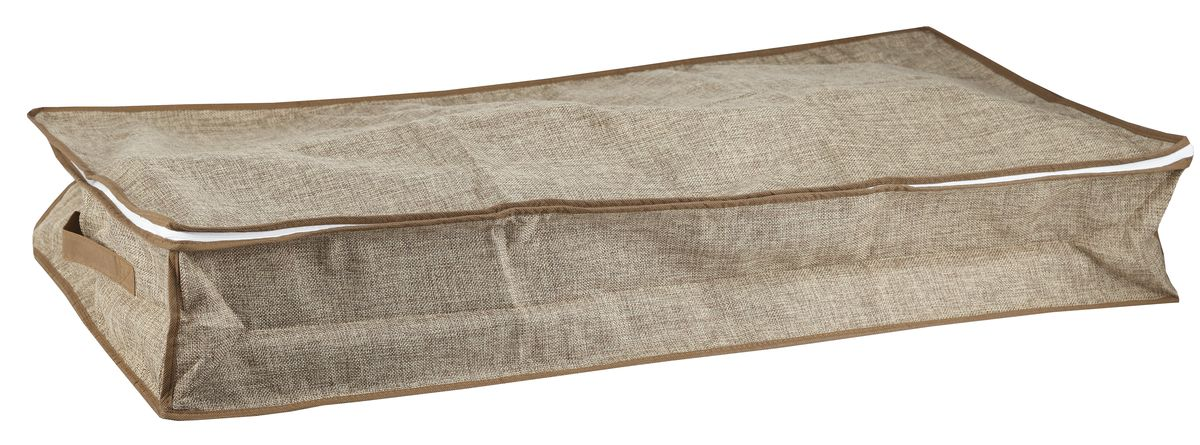 Чехол для хранения вещей White Fox Linen, цвет: бежевый, 16 х 45 х 90 см25051 7_зеленыйЧехол для хранения White Fox Linen выполнен из высококачественного полиэстера стилизованного под лен. Он обеспечит надежное хранение вашей одежды и различных вещей, защитит от повреждений, пыли, грязи во время хранения и транспортировки.
