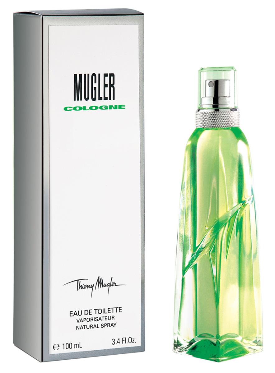 Thierry Mugler Туалетная вода Cologne, 100 мл13981Ароматические, цитрусовые. Бергамот, нероли, цветок апельсина, мускус.