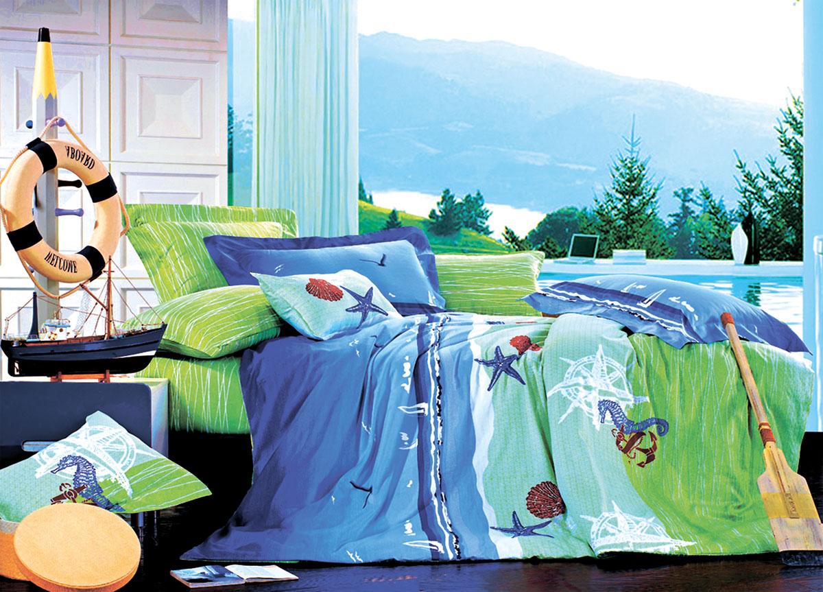 Комплект белья Primavera Classic Море, 2-спальный, наволочки 70x70FA-5125 WhiteКомплект постельного белья Primavera Classic Море является экологически безопасным для всей семьи, так как выполнен из высококачественного сатина (100% хлопка). Комплект состоит из пододеяльника на молнии, простыни и двух наволочек. Постельное белье оформлено ярким рисунком и имеет изысканный внешний вид. Сатин - производится из высших сортов хлопка, а своим блеском и легкостью напоминает шелк. Постельное белье из сатина превращает жаркие летние ночи в прохладные и освежающие, а холодные зимние - в теплые и согревающие. Приобретая комплект постельного белья Primavera Classic Море, вы можете быть уверенны в том, что покупка доставит вам и вашим близким удовольствие и подарит максимальный комфорт.
