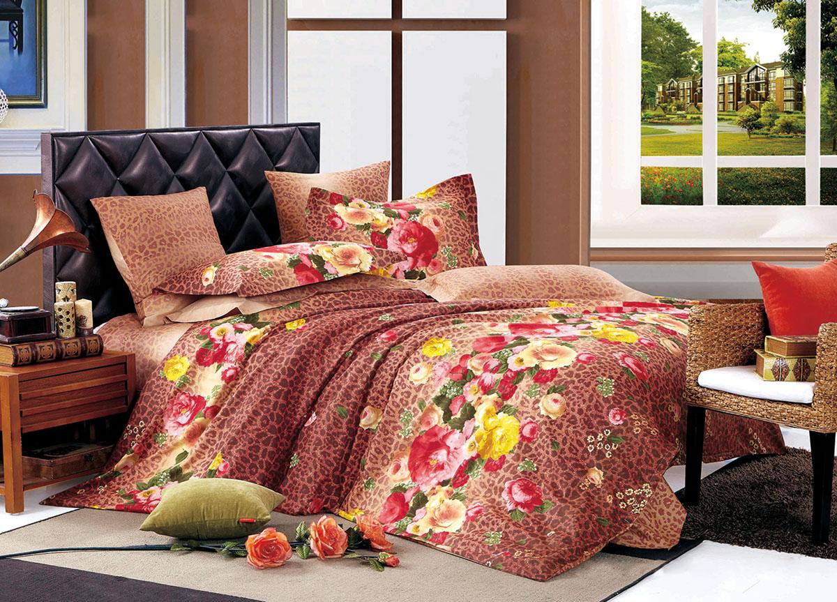 Комплект белья Primavera Classic Осенний сад, 2-спальный, наволочки 70x70391602Комплект постельного белья Primavera Classic Осенний сад является экологически безопасным для всей семьи, так как выполнен из высококачественного сатина (100% хлопка). Комплект состоит из пододеяльника на молнии, простыни и двух наволочек. Постельное белье оформлено ярким рисунком цветов и имеет изысканный внешний вид. Сатин - производится из высших сортов хлопка, а своим блеском и легкостью напоминает шелк. Постельное белье из сатина превращает жаркие летние ночи в прохладные и освежающие, а холодные зимние - в теплые и согревающие. Приобретая комплект постельного белья Primavera Classic Осенний сад, вы можете быть уверенны в том, что покупка доставит вам и вашим близким удовольствие и подарит максимальный комфорт.
