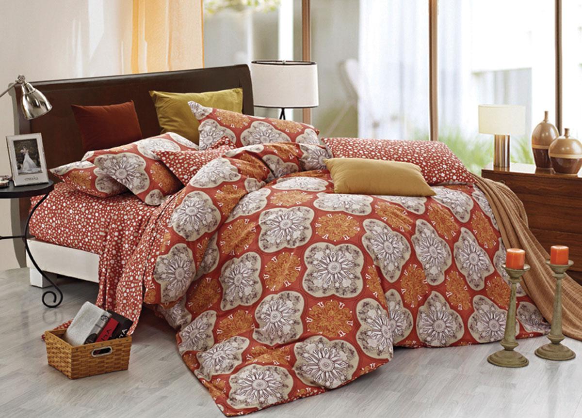 Комплект белья Primavera Classic. Кружева, 2-спальный, наволочки 70x70, цвет: коричневый06008A7602Наволочки с декоративным кантом особенно подойдут, если вы предпочитаете класть подушки поверх покрывала. Кайма шириной 5-10см с трех или четырех сторон делает подушки визуально более объемными, смотрятся они очень аккуратно, даже парадно. Еще такие наволочки называют оксфордскими или наволочками «с ушками».Сатин – прочная и плотная ткань с диагональным переплетением нитей. Хлопковый сатин по мягкости и гладкости уступает атласу, зато не будет соскальзывать с кровати. Сатиновое постельное белье легко переносит стирку в горячей воде, не выцветает. Прослужит комплект из обычного сатина меньше, чем из сатина повышенной плотности, но дольше белья из любой другой хлопковой ткани. Сатин приятен на ощупь, под ним комфортно спать летом и зимой.Производство «Примавера» находится в Китае, что позволяет сократить расходы на доставку хлопка. Поэтому цены на это постельное белье более чем скромные и это не сказывается на качестве. Сатин очень гладкий, мягкий, но при этом, невероятно прочный. Он прослужит вам действительно долго и не полиняет. Для нанесения рисунков используют только безопасные для окружающей среды и здоровья человека красители.