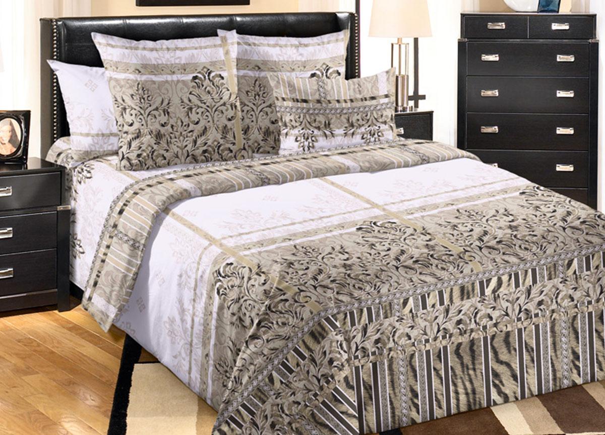 Комплект белья Primavera Баккарди, 2-спальный, наволочки 70x70S03301004Комплект постельного белья Primavera Баккарди является экологически безопасным для всей семьи, так как выполнен из высококачественного перкаля. Наволочки с декоративным кантом особенно подойдут, если вы предпочитаете класть подушки поверх покрывала. Кайма шириной 5-10 см с трех или четырех сторон делает подушки визуально более объемными, смотрятся они очень аккуратно, даже парадно. Комплект состоит из пододеяльника, простыни и двух наволочек. Постельное белье оформлено ярким узором и имеет изысканный внешний вид. Перкаль представляет собой очень прочную ткань высочайшего качества, которую производят из чесаного хлопка. Перкаль обладает матовой, слегка бархатистой поверхностью. Несмотря на высокую прочность и плотность, перкаль - мягкий и нежный материал. Приобретая комплект постельного белья Primavera Баккарди, вы можете быть уверенны в том, что покупка доставит вам и вашим близким удовольствие и подарит максимальный комфорт.