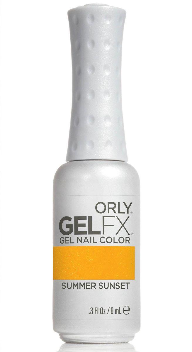 Orly Гель-лак для ногтей Gel FX Gel Nail Lacquer 873 Summer Sunset .3oz/9мл7210581017Профессиональная система гель-маникюра GELFX содержит витамины A, Е и В5, исключает возникновение проблем с ногтями, обладает свойством выравнивания ногтей, и главное, дарит невероятно стойкий маникюр на целых две недели. Палитра с рейтинговыми оттенками ORLY позволяет с легкостью подобрать нужный цвет к новому образу.