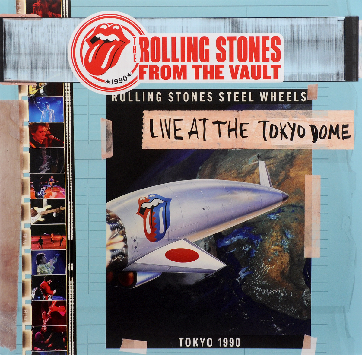 The Rolling Stones The Rolling Stones. Live At The Tokyo Dome (4 LP + DVD) stones пиджак