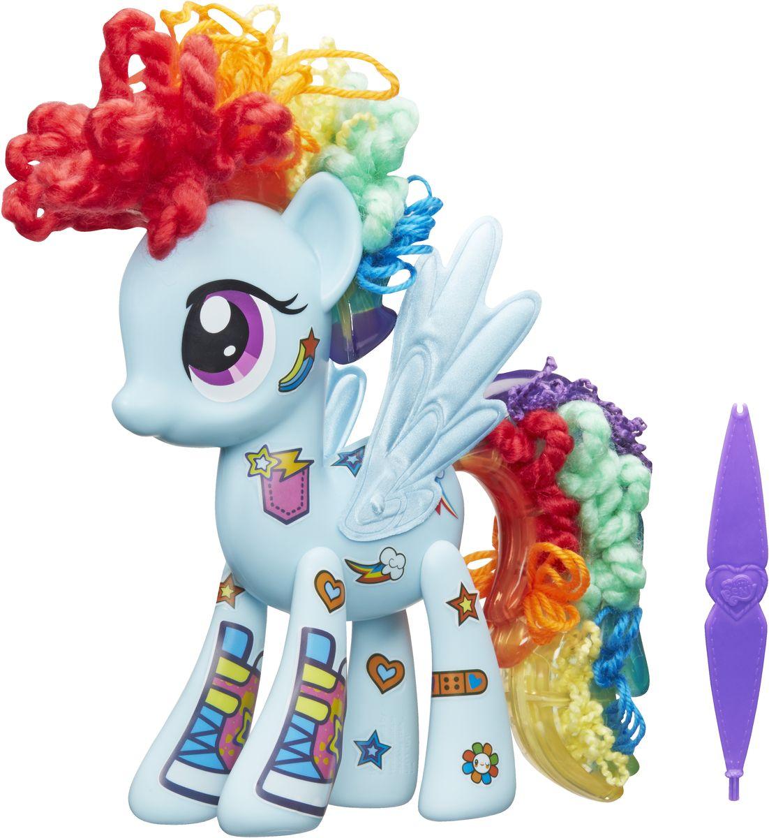 My Little Pony Игровой набор Design-a-Pony Rainbow Dash хасбро hаsbro b3604 b8074 my little pony игровой мейнхеттен rainbow dash