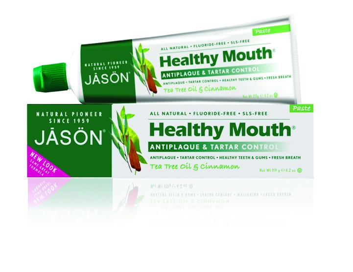 Jason Зубная паста Чайное дерево, 125 гGA1094100, GA07572Лечебно-профилактическая зубная паста без фтора содержащая эссенциальные масла чайного дерева, гвоздики, корицы и мелии оказывает антибактериальное, антисептическое действие против значительного количества бактерий. Активно препятствует микробному обсеменению, предупреждает кариес, снимает отечность, напряжение в десне, устраняет кровоточивость. Эффективно устраняет неприятный запах изо рта и надолго создает ощущение чистоты и свежести. Подходит при воспалительных заболеваниях пародонта и слизистой оболочки рта, при кровоточивости десен, при наличии кариесогенных факторов поражения эмали.