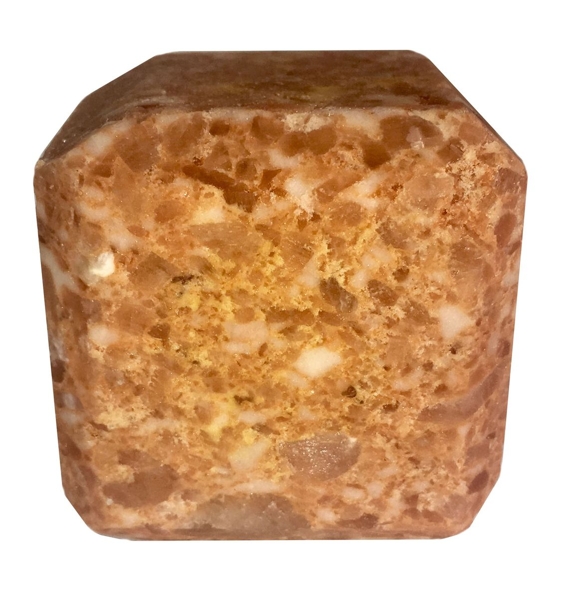 Соль для бани Proffi Sauna, с маслом апельсинаRSP-202SПрессованный кубик из соли Proffi Sauna подходит для сауны и бани. Имеет приятный аромат апельсина. Заходя в бане / сауне в парилку, Вы ставите кубик из соли на камни и поливаете камень водой. В результате образуется облако соляного пара, а по всей парилке разносится приятный аромат.1 кубик рассчитан на 1 применение. Состав: чистая природная структурированная соль, эфирное масло.