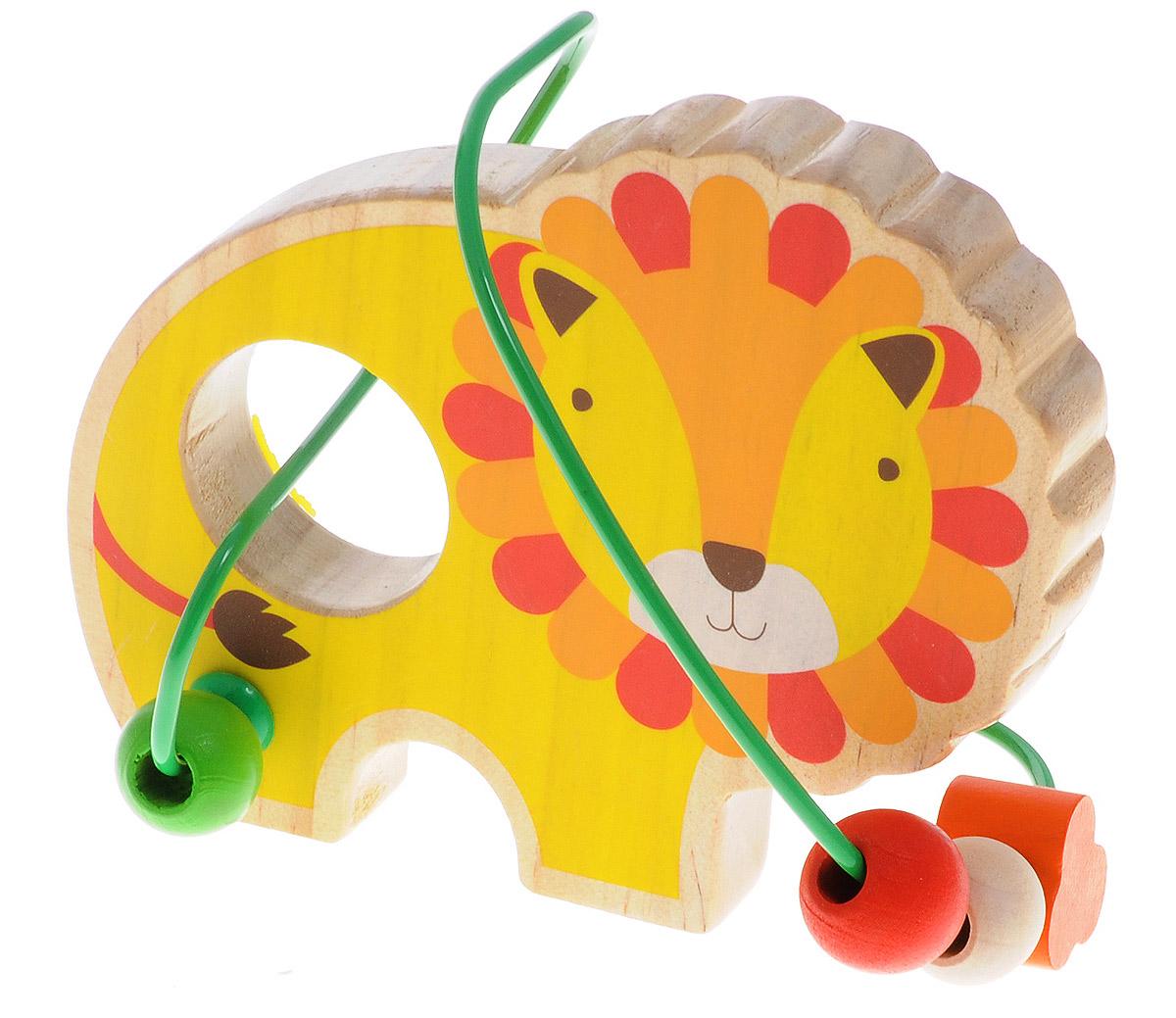 Lucy&Leo Лабиринт Лев, Мир деревянных игрушек