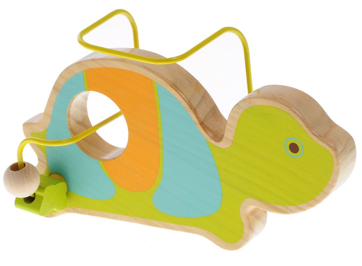 Lucy&Leo Лабиринт Черепаха, Мир деревянных игрушек