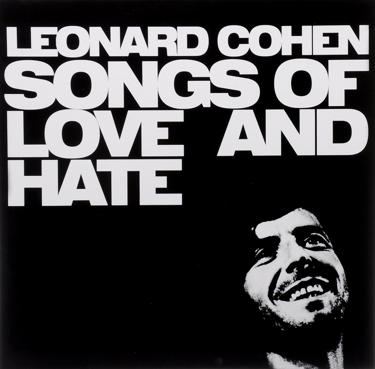 Леонард Коэн Leonard Cohen. Songs Of Love And Hate (LP) cd диск cohen leonard songs from the road 1 cd