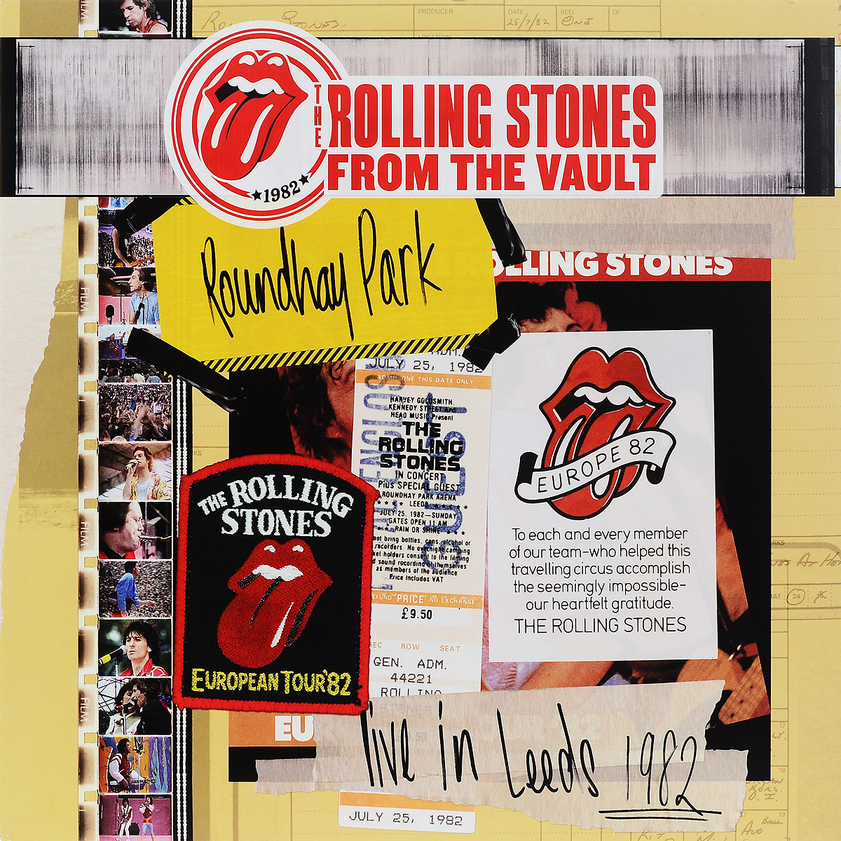 The Rolling Stones The Rolling Stones. Live In Leeds 1982 (3 LP + DVD) procol harum procol harum live in concert with the edmonton symphony 2 lp colour