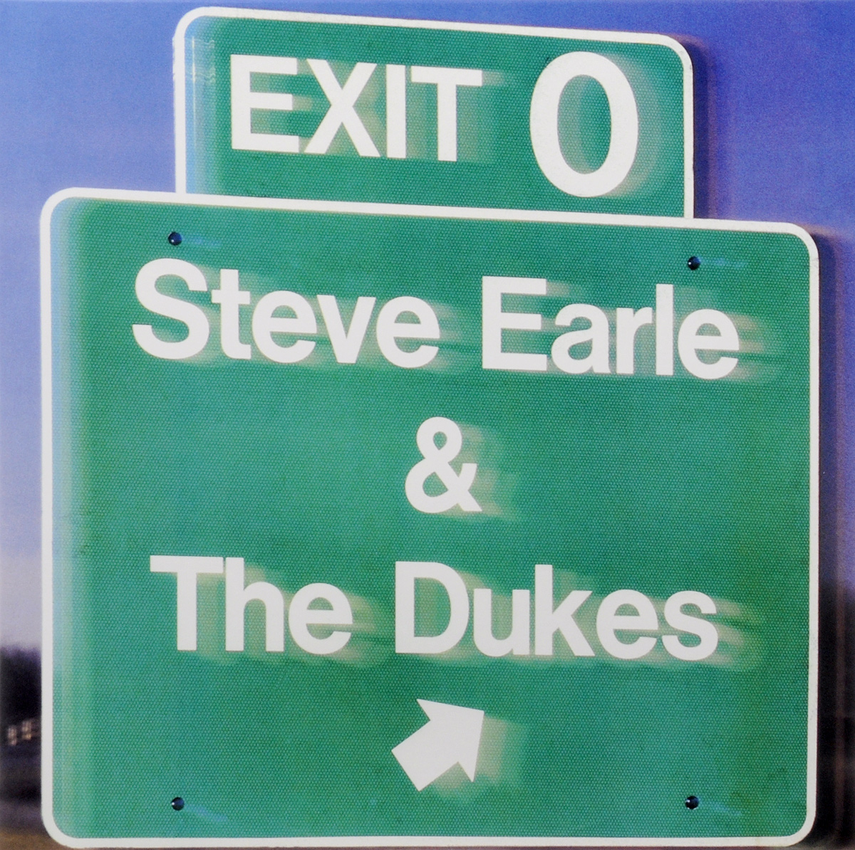 Стив Эрль,The Dukes Steve Earle & The Dukes. Exit 0 (LP) steve madden st170awmar56