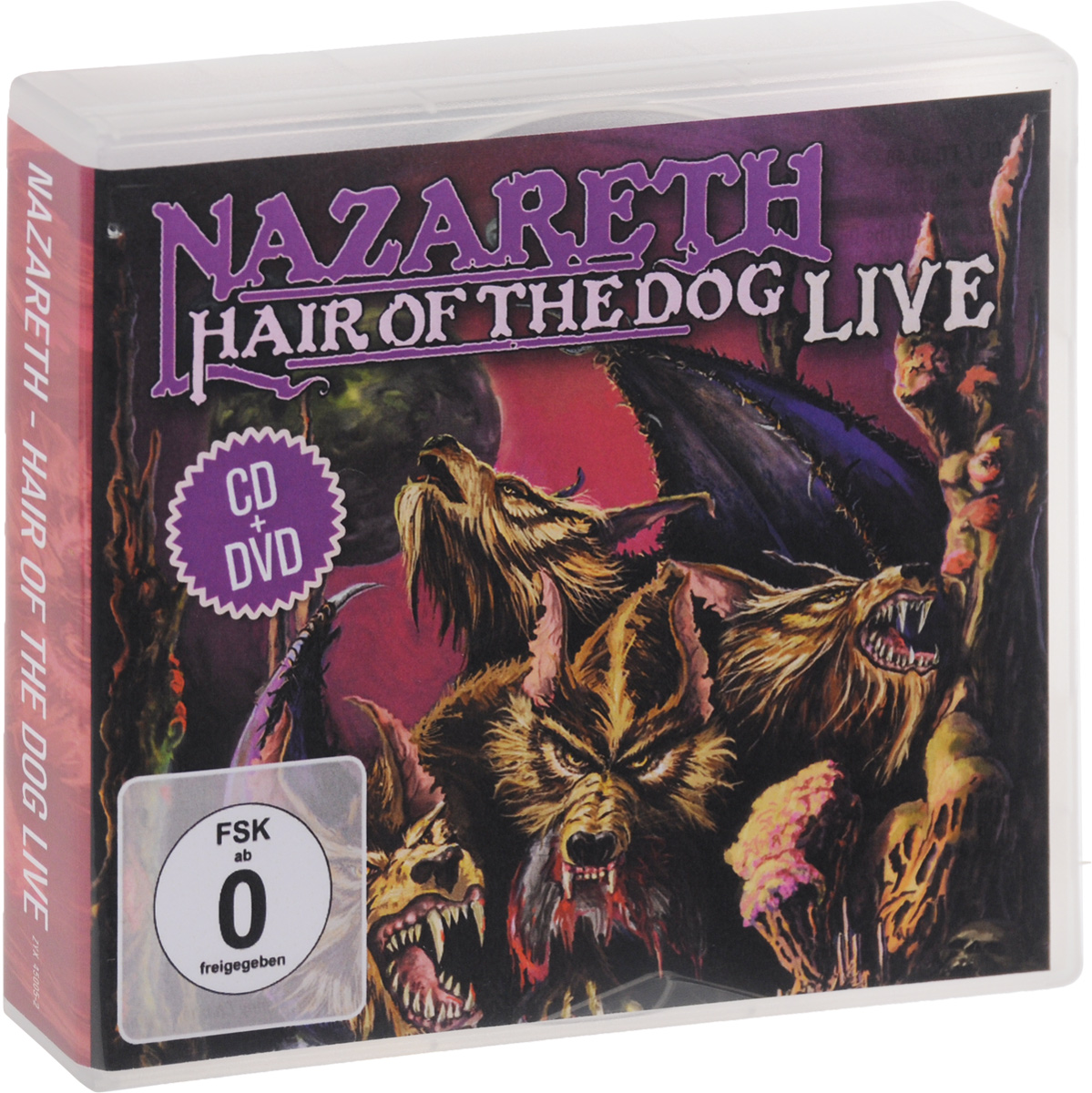 Nazareth Nazareth. Hair Of The Dog. Live (CD + DVD) heir of the dog