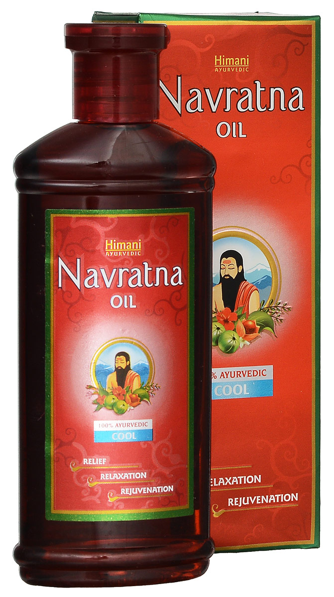 Navratna масло для тела, 200 мл7213526045Это масло идеально подходит как для косметического ухода за кожей, так и при использовании в лечебных целях.