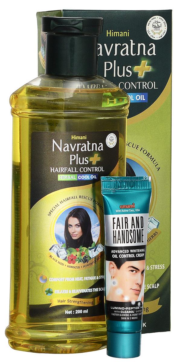 Navratna масло от выпадения волос, 200 млFS-00897Это средство №1 в Индии для лечения выпадения волос. Охлаждающее аюрведическое масло для массажа головы и тела.