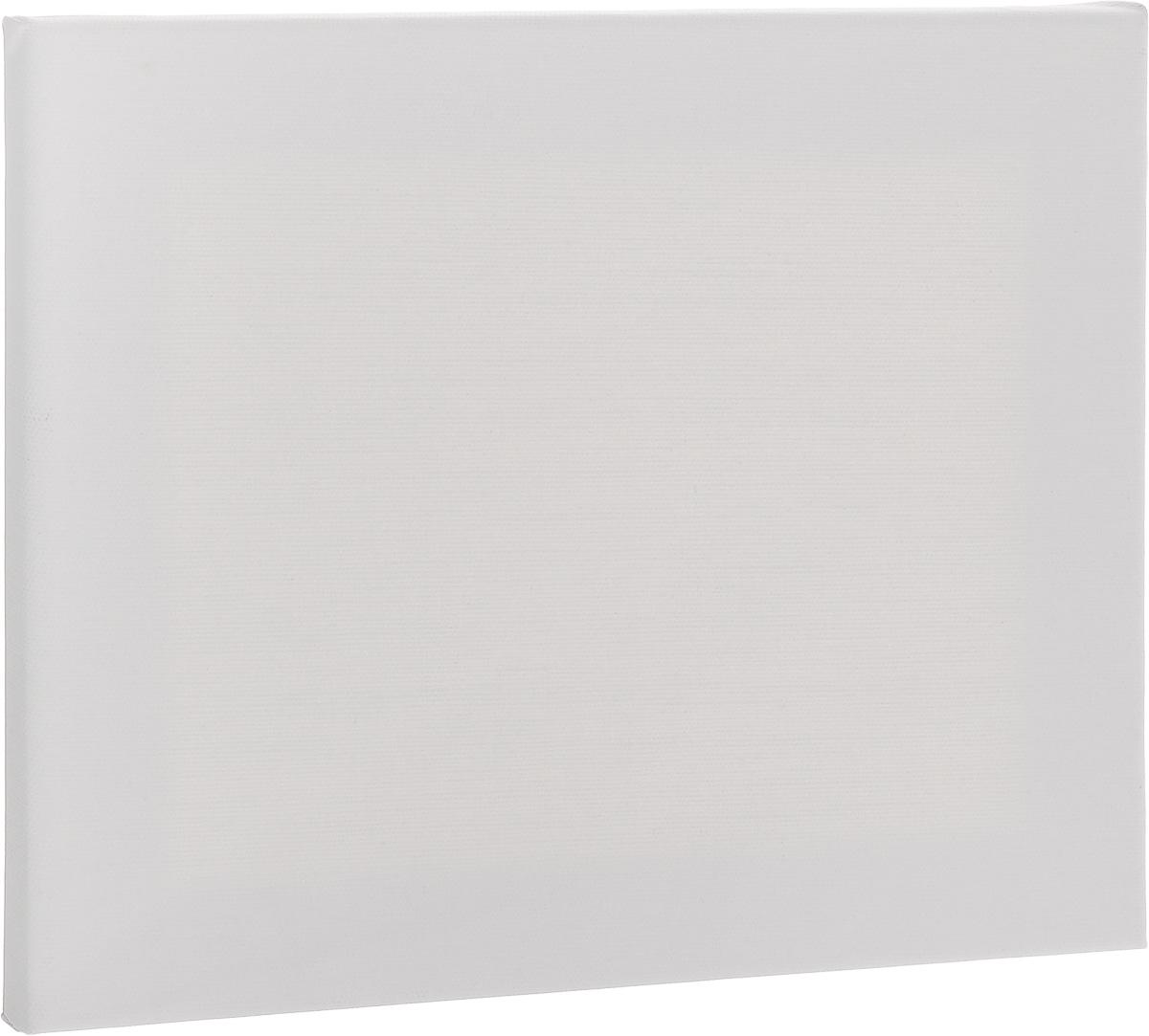 """Холст """"Гамма"""" на подрамнике выполнен из льна и хлопка и предназначен для живописи масляными и акриловыми красками. Размер холста: 25 х 30 см."""