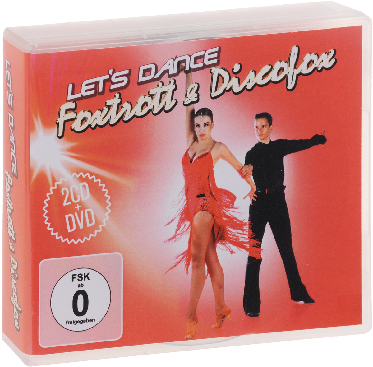 Let's Dance. Foxtrott & Discofox (2 CD + DVD) новая вода к687