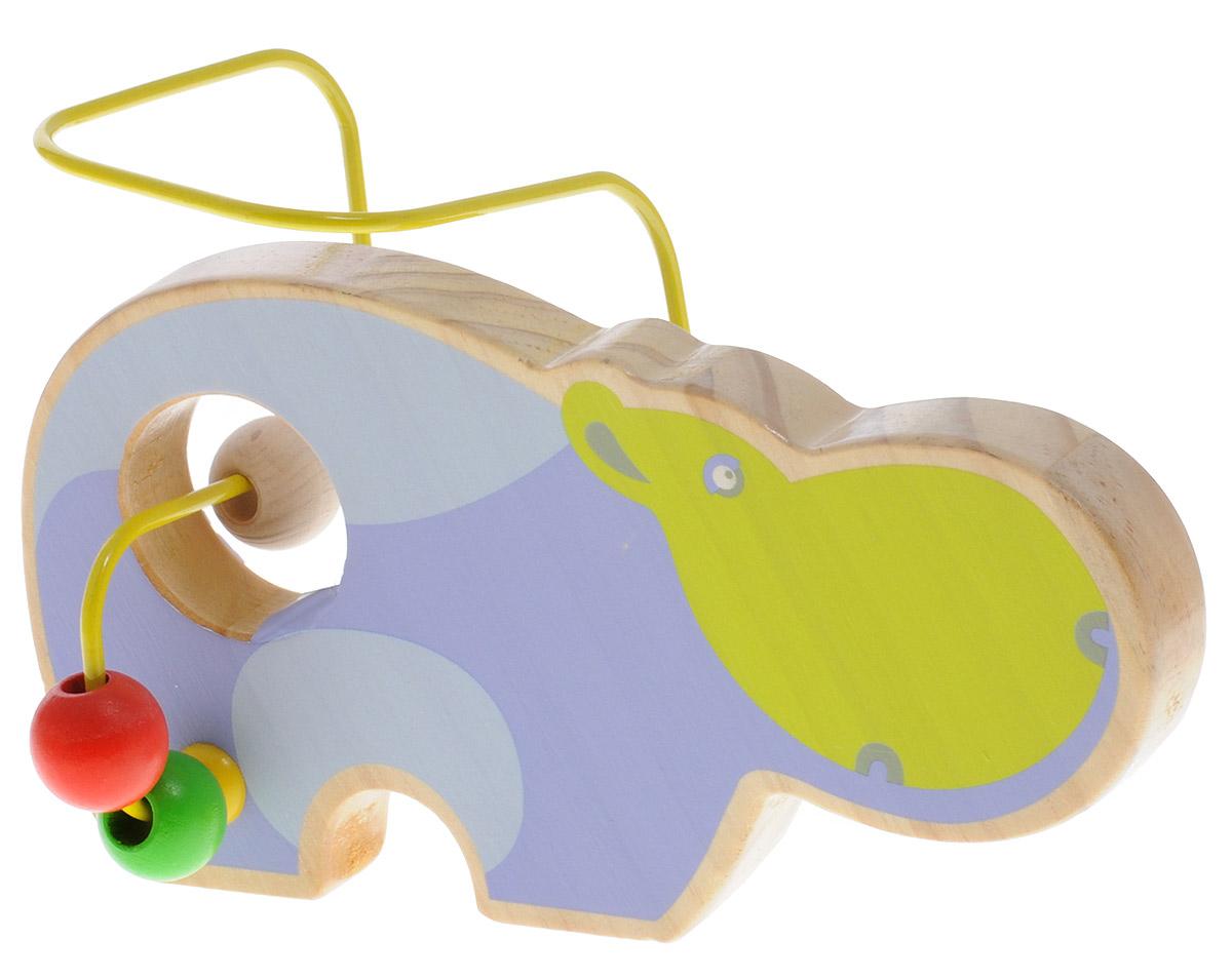 Lucy&Leo Лабиринт Бегемот, Мир деревянных игрушек