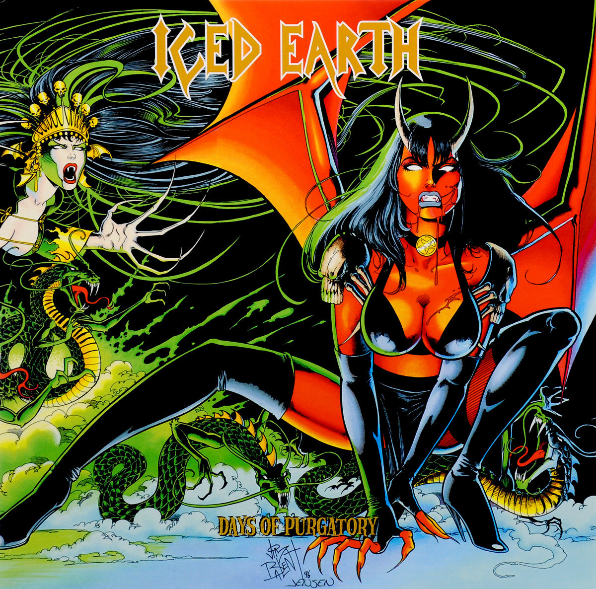 Iced Earth Iced Earth. Days Of Purgatory. Deluxe Edition (3 LP)