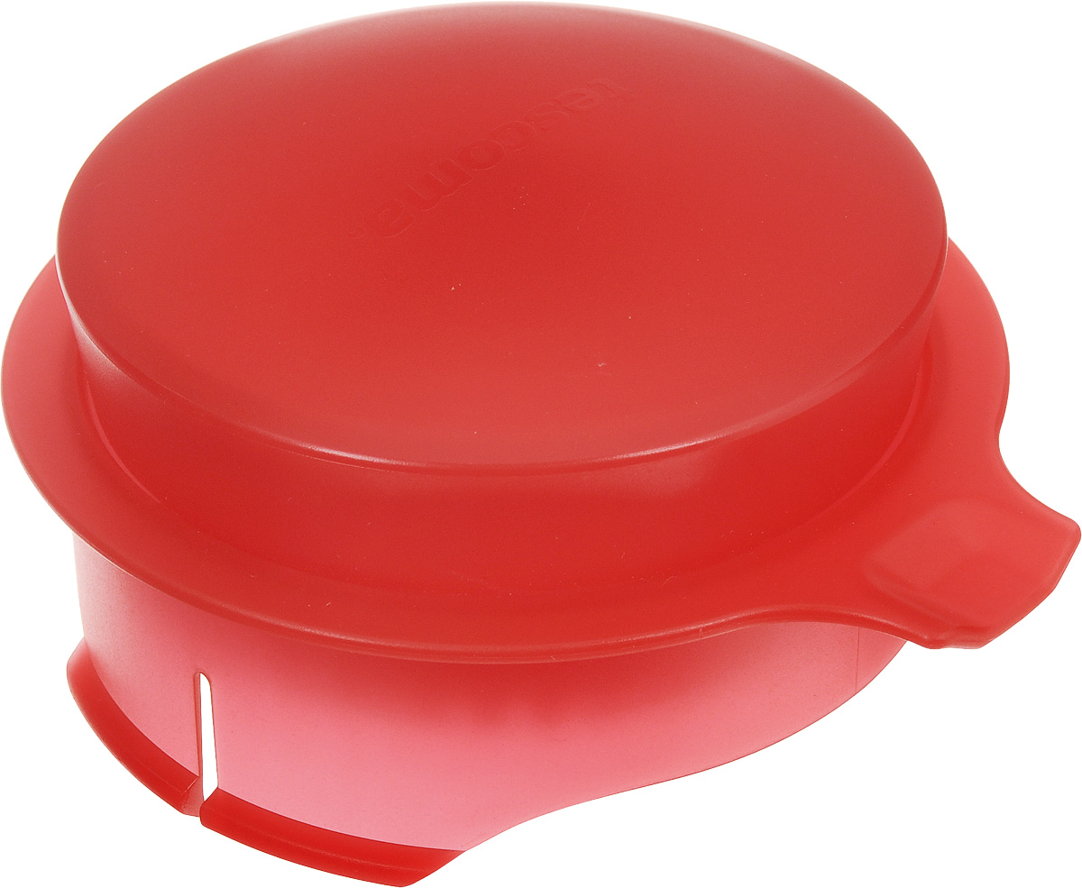 Соковыжималка для цитрусовых Tescoma, для кувшина Teo 2,5 л, цвет: красный54 009312Соковыжималка Tescoma, выполненная из высококачественного пластика, станет полезным аксессуаром на любой кухне. Она подходит для кувшина Teo объемом 2,5 л. Соковыжималка состоит из насадки и крышки и идеально подойдет для мелких и крупных цитрусовых фруктов. Достаточно разрезать фрукты пополам, зафиксировать на насадке и покрутить. Сок поступает в кувшин. Простая и удобная в использовании соковыжималка Tescoma займет достойное место среди кухонного инвентаря.Можно мыть в посудомоечной машине.Диаметр соковыжималки по верхнему краю: 11 см. Высота соковыжималки с учетом крышки: 4,5 см.