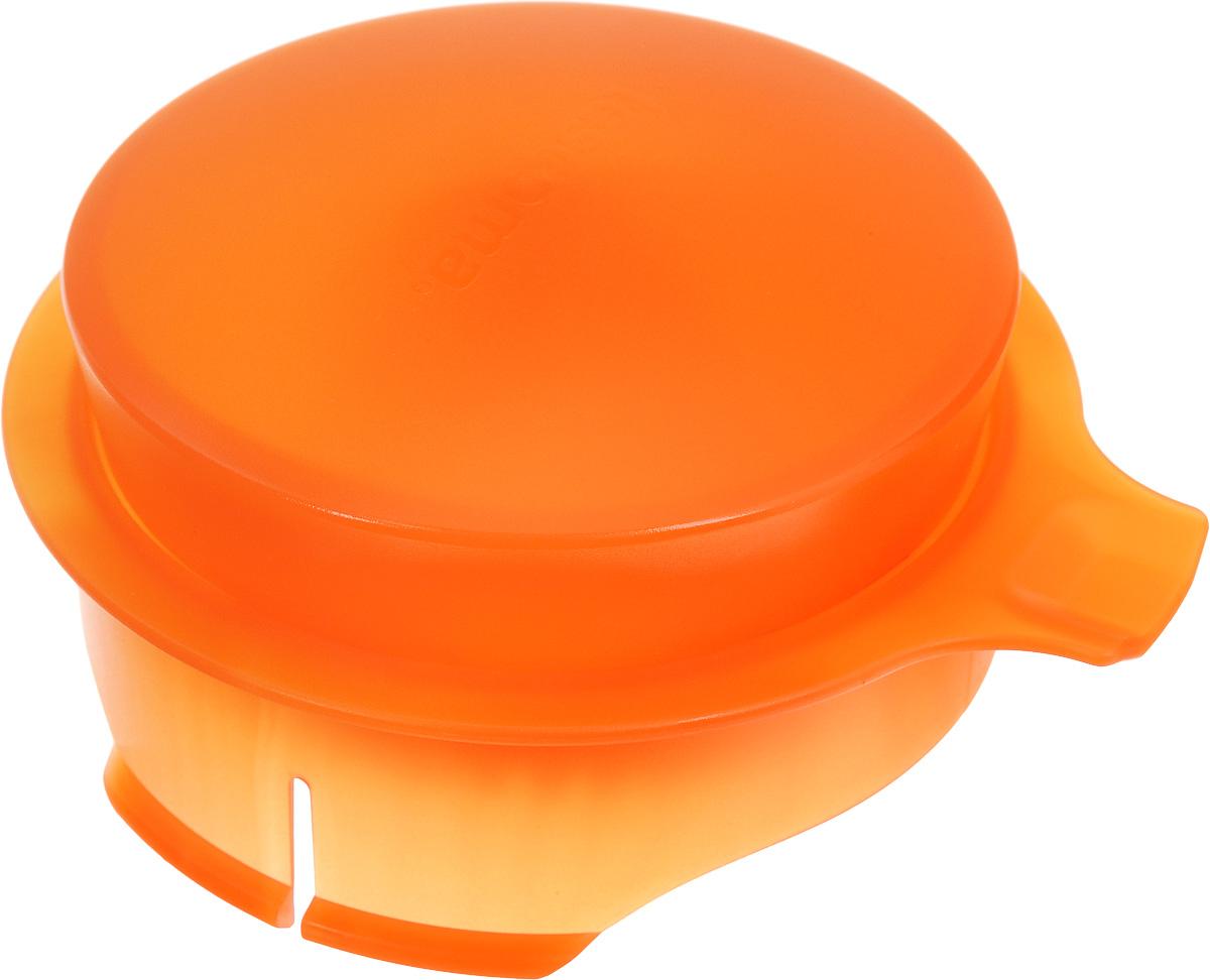 Соковыжималка для цитрусовых Tescoma, для кувшина Teo 2,5 л, цвет: оранжевый68/5/4Соковыжималка Tescoma, выполненная из высококачественного пластика, станет полезным аксессуаром на любой кухне. Она подходит для кувшина Teo объемом 2,5 л. Соковыжималка состоит из насадки и крышки и идеально подойдет для мелких и крупных цитрусовых фруктов. Достаточно разрезать фрукты пополам, зафиксировать на насадке и покрутить. Сок поступает в кувшин. Простая и удобная в использовании соковыжималка Tescoma займет достойное место среди кухонного инвентаря.Можно мыть в посудомоечной машине.Диаметр соковыжималки по верхнему краю: 11 см.Высота соковыжималки с учетом крышки: 4,5 см.