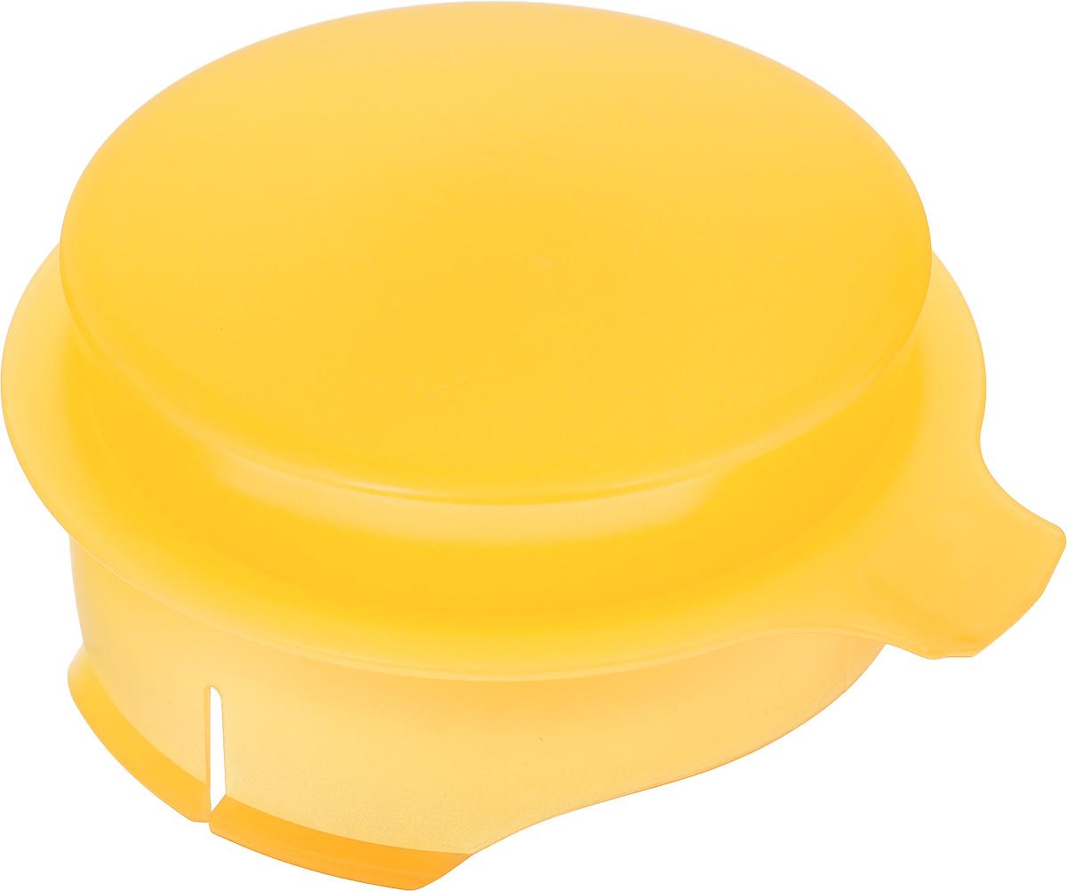 Соковыжималка для цитрусовых Tescoma, для кувшина Teo 2,5 л, цвет: желтыйFS-91909Соковыжималка Tescoma, выполненная из высококачественного пластика, станет полезным аксессуаром на любой кухне. Она подходит для кувшина Teo объемом 2,5 л. Соковыжималка состоит из насадки и крышки и идеально подойдет для мелких и крупных цитрусовых фруктов. Достаточно разрезать фрукты пополам, зафиксировать на насадке и покрутить. Сок поступает в кувшин. Простая и удобная в использовании соковыжималка Tescoma займет достойное место среди кухонного инвентаря.Можно мыть в посудомоечной машине.Диаметр соковыжималки по верхнему краю: 11 см. Высота соковыжималки с учетом крышки: 4,5 см.